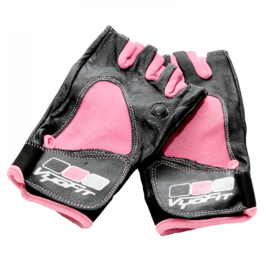 VYOFIT® PINK TRAINING GLOVES (PAIR)