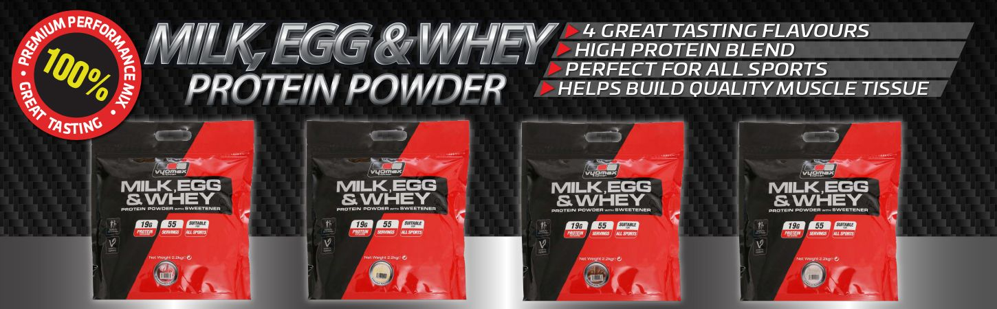 Milk Egg and Whey 2.2kg